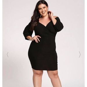 Brand new off the shoulder bodycon dress